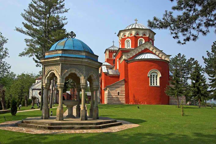 manastir zica srbija