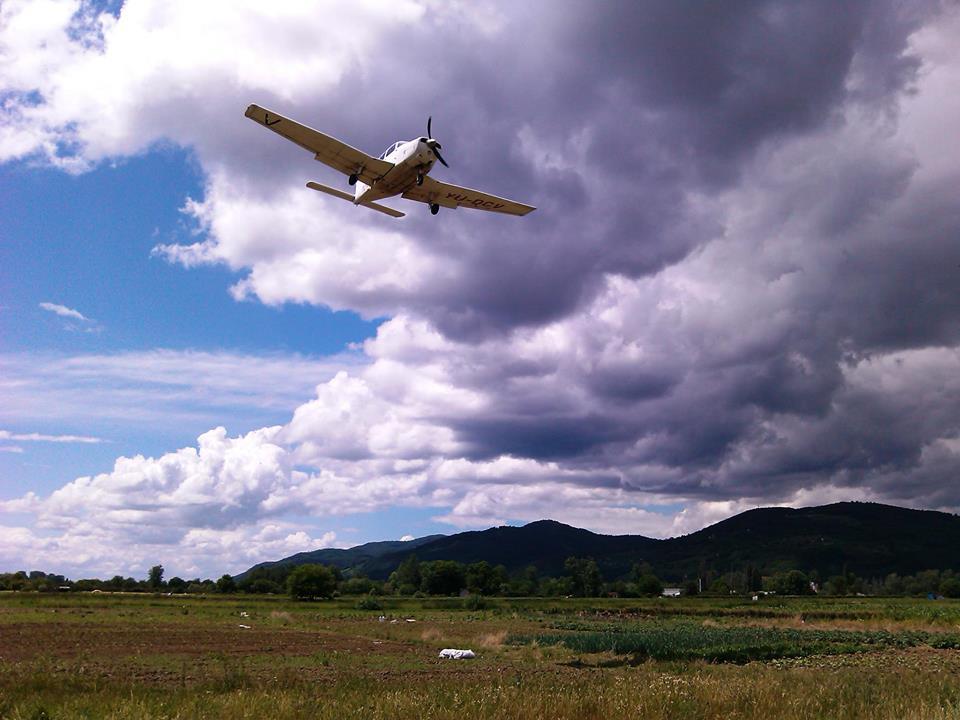 Panoramsko razgledanje avionom