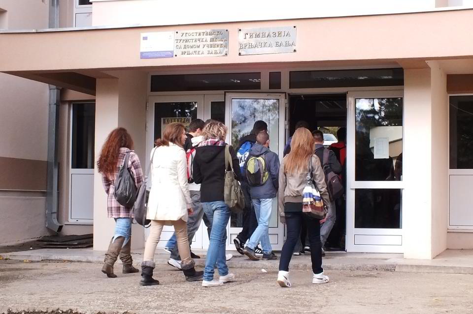 gimnazija u vrnjackoj banji
