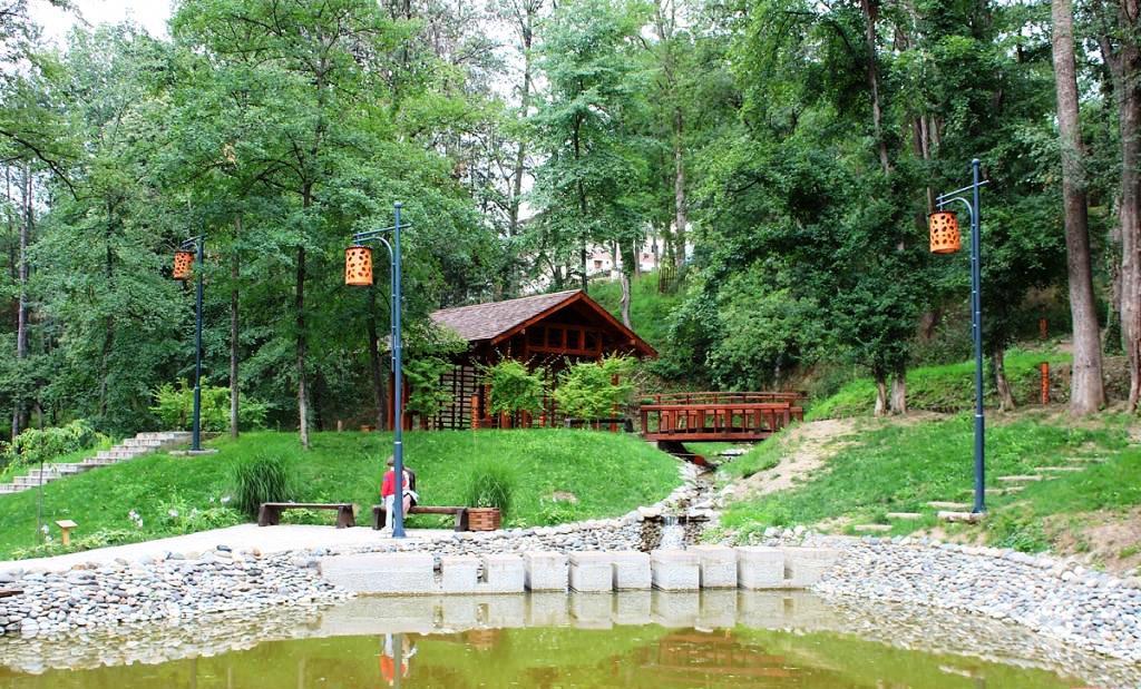 japanski vrt vrnjacka banja