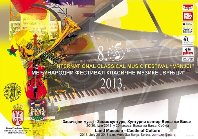 "Festival klasične muzike ""Vrnjci 2013"""