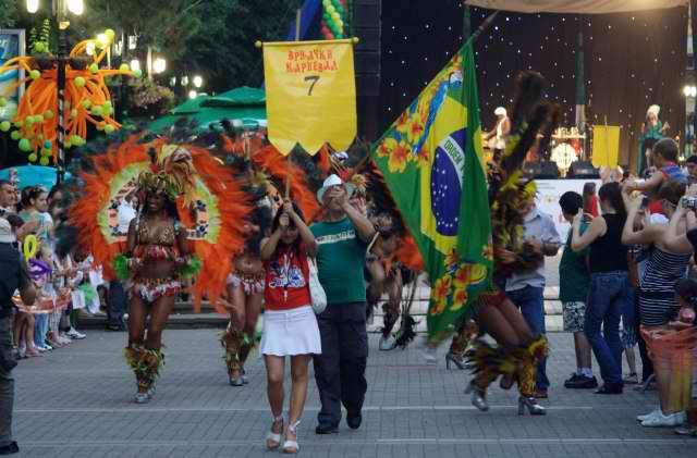 Karneval i karnevalska povorka