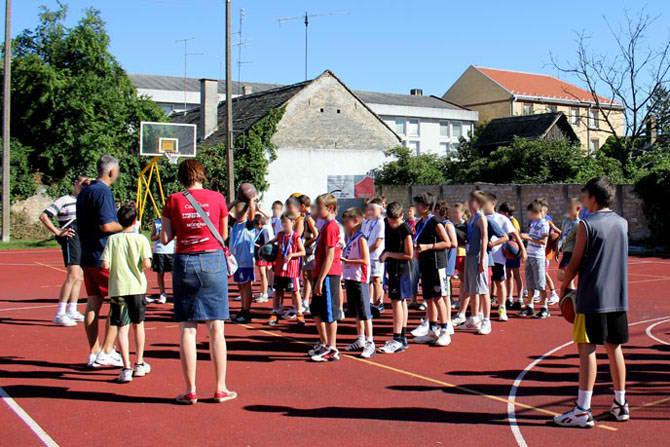 Škola košarke basket – Fontana