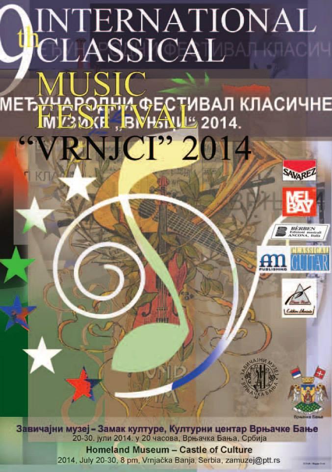"Počinje Festival klasične muzike ""Vrnjci 2014"""